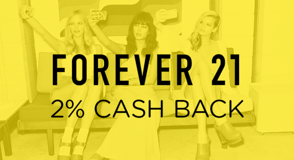 $0.00 for Forever21.com (expiring on Monday, 04/01/2019). Offer available at Forever 21.