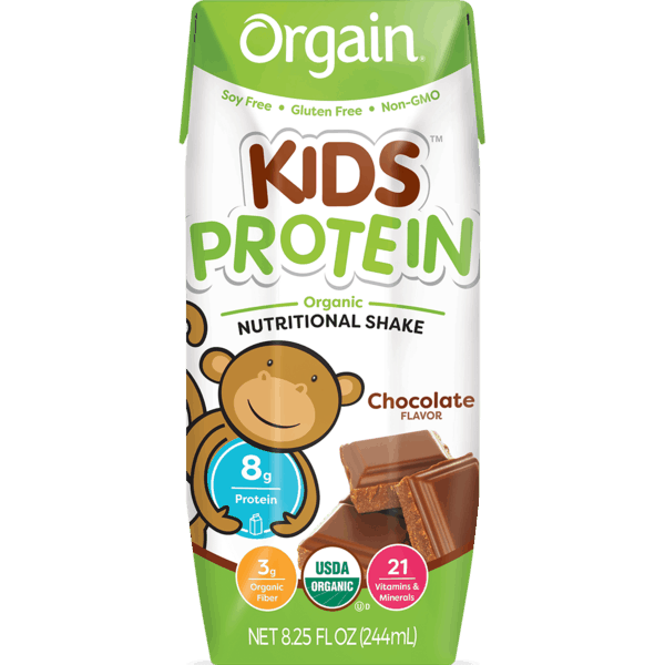 $2.00 for Orgain® Kids Protein Organic Nutrition Shake. Offer available at Whole Foods Market®, Natural Grocers.