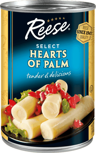 $1.00 for Reese® Hearts of Palm. Offer available at multiple stores.