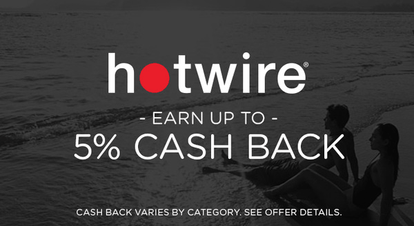 $0.00 for Hotwire (expiring on Monday, 09/24/2018). Offer available at Hotwire.