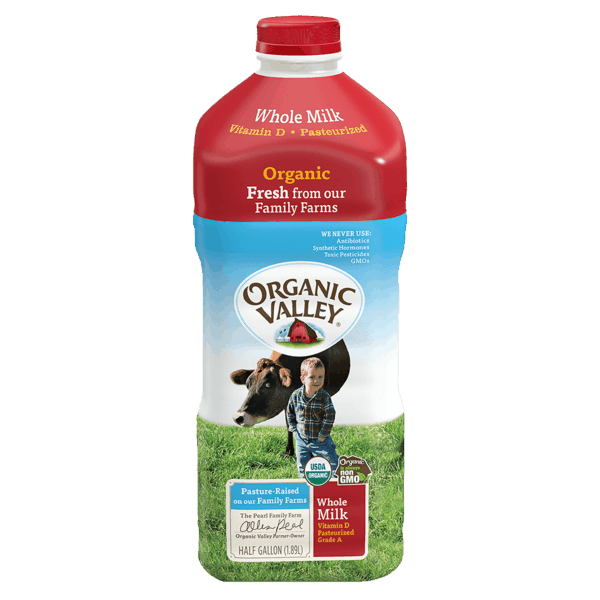 $1.25 for Organic Valley® Milk (expiring on Saturday, 03/31/2018). Offer available at Tom Thumb, Randalls, Albertsons.