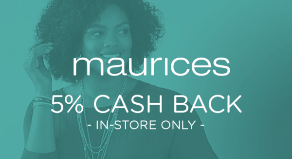 $0.00 for Maurices (expiring on Tuesday, 04/02/2019). Offer available at maurices.