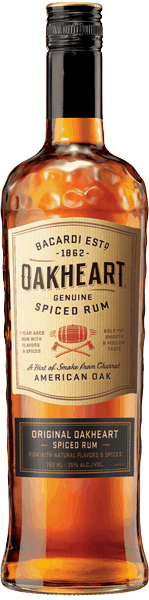 $3.00 for Oakheart Spiced Rum. Offer available at multiple stores.