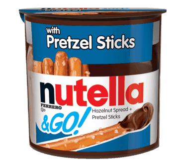 $0.50 for Nutella® & GO! (expiring on Sunday, 04/12/2020). Offer available at Shell.
