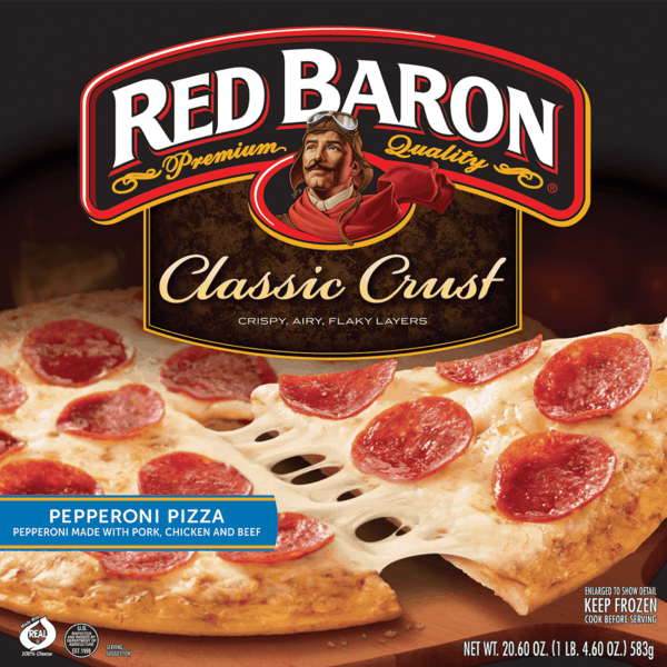 $1.00 for Red Baron® Multi-Serve Frozen Pizza (expiring on Wednesday, 01/02/2019). Offer available at multiple stores.