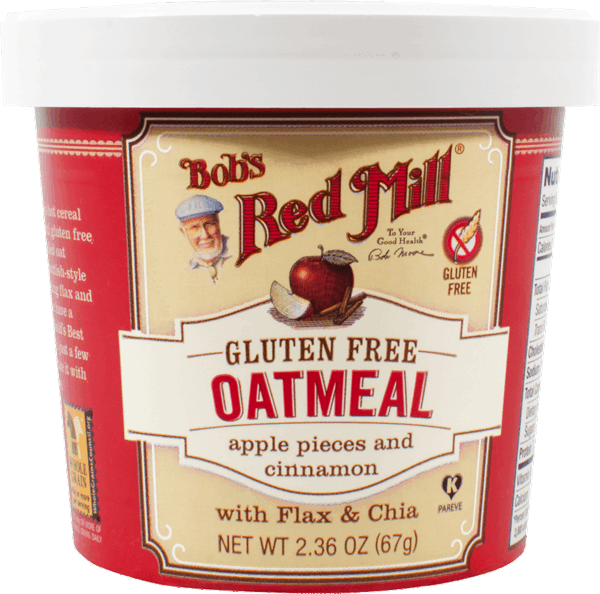 $0.50 for Bob's Red Mill® Oatmeal Cups (expiring on Wednesday, 01/17/2018). Offer available at multiple stores.