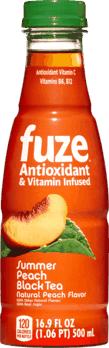 $0.50 for FUZE® Antioxidant & Vitamin Infused Tea (expiring on Saturday, 03/02/2019). Offer available at multiple stores.