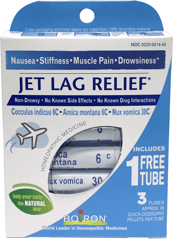 $1.00 for Jet Lag Relief (expiring on Monday, 01/31/2022). Offer available at King Soopers.