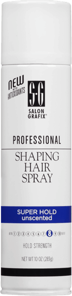 $2.00 for Salon Grafix® Professional Shaping Hair Spray (expiring on Friday, 03/02/2018). Offer available at Walmart.