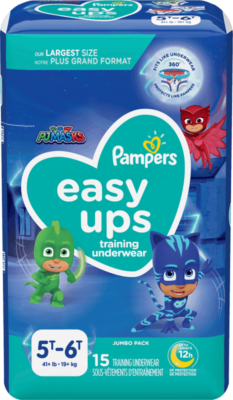 $1.50 for Pampers Easy Ups. Offer available at multiple stores.