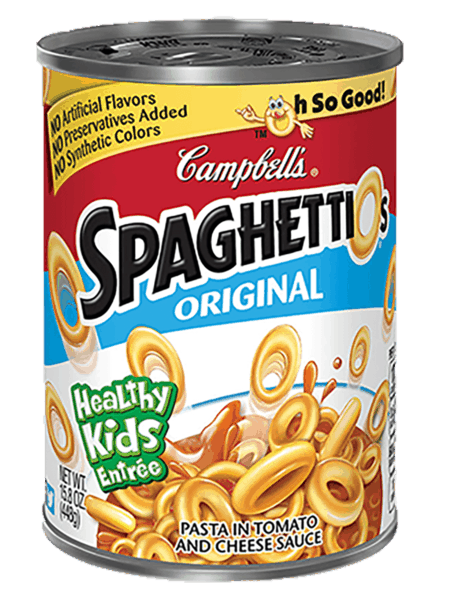 $0.50 for SpaghettiOs® Original (expiring on Wednesday, 05/02/2018). Offer available at multiple stores.