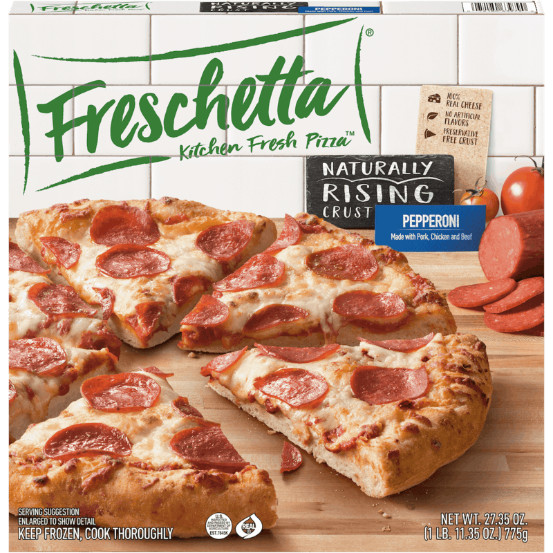 $0.75 for Freschetta® Kitchen Fresh Pizza™ (expiring on Monday, 12/02/2019). Offer available at multiple stores.