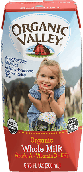 $2.00 for Organic Valley® Single Serve Milk Boxes (expiring on Monday, 12/31/2018). Offer available at multiple stores.
