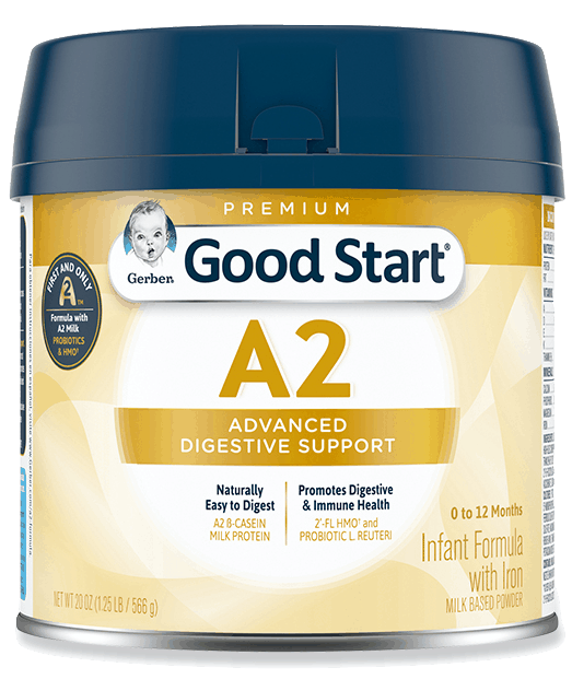 $8.00 for Good Start A2 Milk Infant Formula and Gerber Good Start A2 Milk Toddler Drink (expiring on Friday, 04/30/2021). Offer available at Meijer, H-E-B.