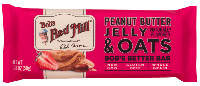 $1.00 for Bob's Red Mill Better Bars (expiring on Wednesday, 08/21/2019). Offer available at multiple stores.