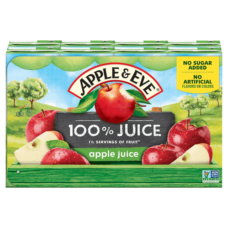 $0.50 for Apple & Eve® 100% Juice. Offer available at multiple stores.