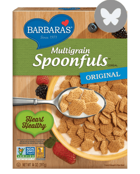 $1.00 for Multigrain Spoonfuls™ Cereal (expiring on Wednesday, 05/02/2018). Offer available at multiple stores.