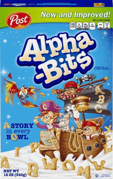 $0.50 for Alpha-Bits® Cereal (expiring on Monday, 04/02/2018). Offer available at WinCo Foods.