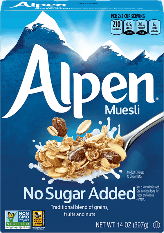 $1.00 for Alpen Muesli Cereal (expiring on Friday, 10/01/2021). Offer available at multiple stores.