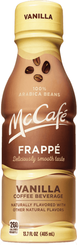 $1.25 for McCafe® Frappé (expiring on Sunday, 06/16/2019). Offer available at Walmart.
