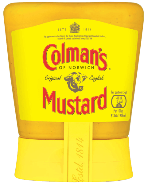 $1.00 for Colman's® Original English Squeezy Mustard. Offer available at multiple stores.