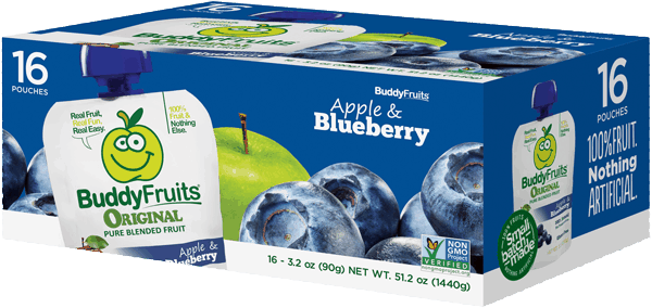 $0.80 for Buddy Fruits® Club Packs (expiring on Wednesday, 05/02/2018). Offer available at Sam's Club, BJ's.