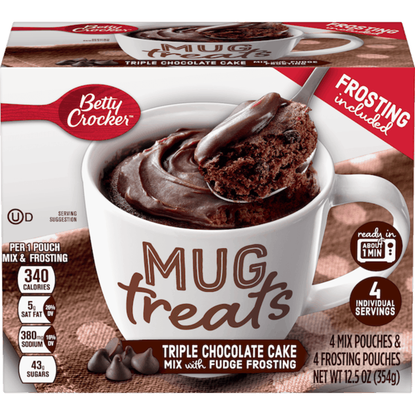 $1.00 for Betty Crocker™ Mug Treats (expiring on Tuesday, 04/02/2019). Offer available at Publix.
