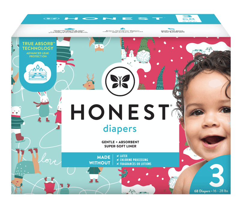 $2.00 for The Honest Company Winter Diapers. Offer available at Target, Target Online.