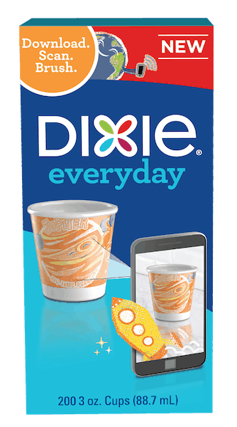 $0.50 for Dixie® Cups (expiring on Monday, 12/31/2018). Offer available at multiple stores.