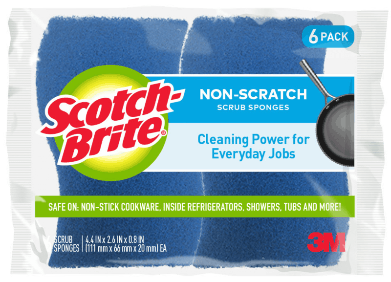 $0.50 for Scotch-Brite® Scrub Sponges (expiring on Monday, 03/02/2020). Offer available at Walmart.
