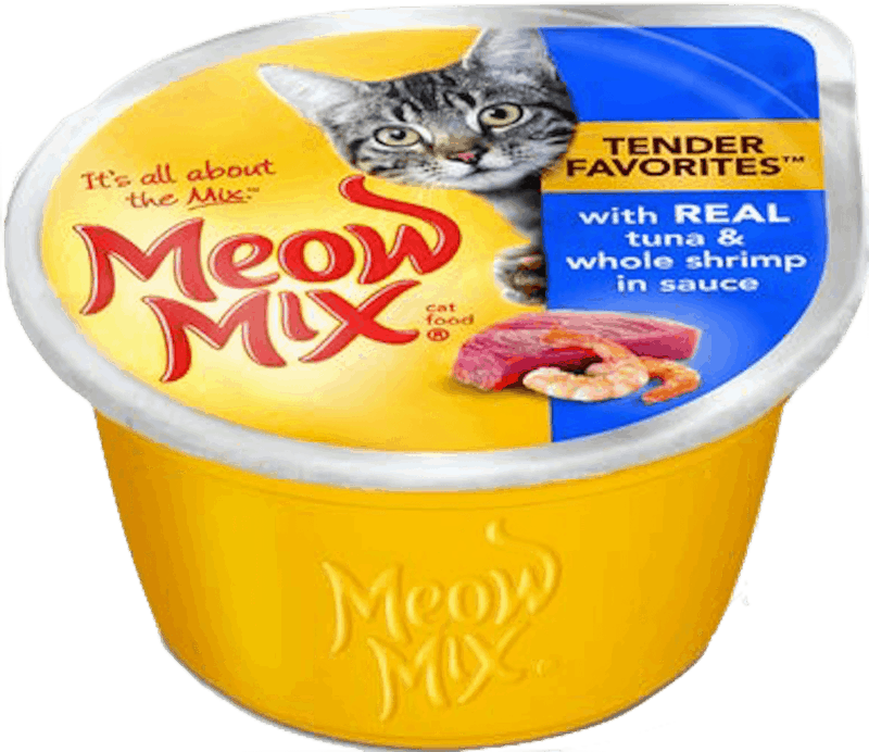 $0.50 for Meow Mix® Wet Cat Food - Singles (expiring on Wednesday, 10/02/2019). Offer available at multiple stores.