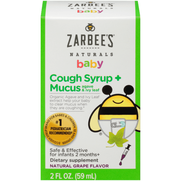 $0.50 for Any Zarbee's® Naturals Baby Cough Syrup (expiring on Sunday, 02/02/2020). Offer available at multiple stores.