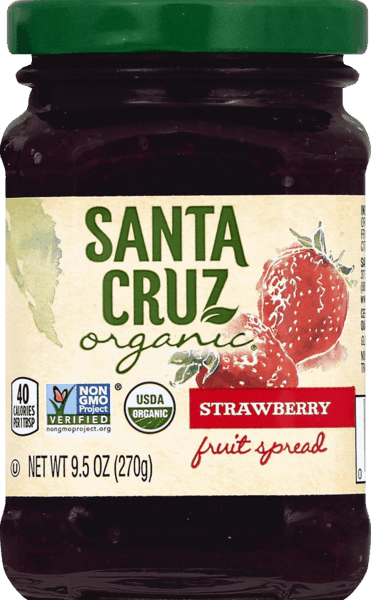 $0.75 for Santa Cruz Organic® Fruit Spread (expiring on Friday, 09/13/2019). Offer available at Walmart.