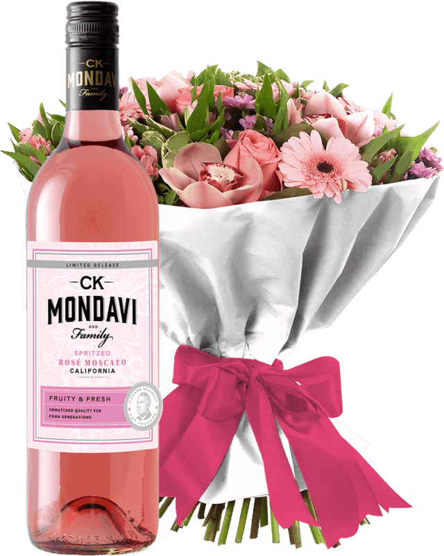 $2.00 for CK Mondavi Wines & Any Brand Flowers (expiring on Sunday, 03/01/2020). Offer available at Big Y Foods.