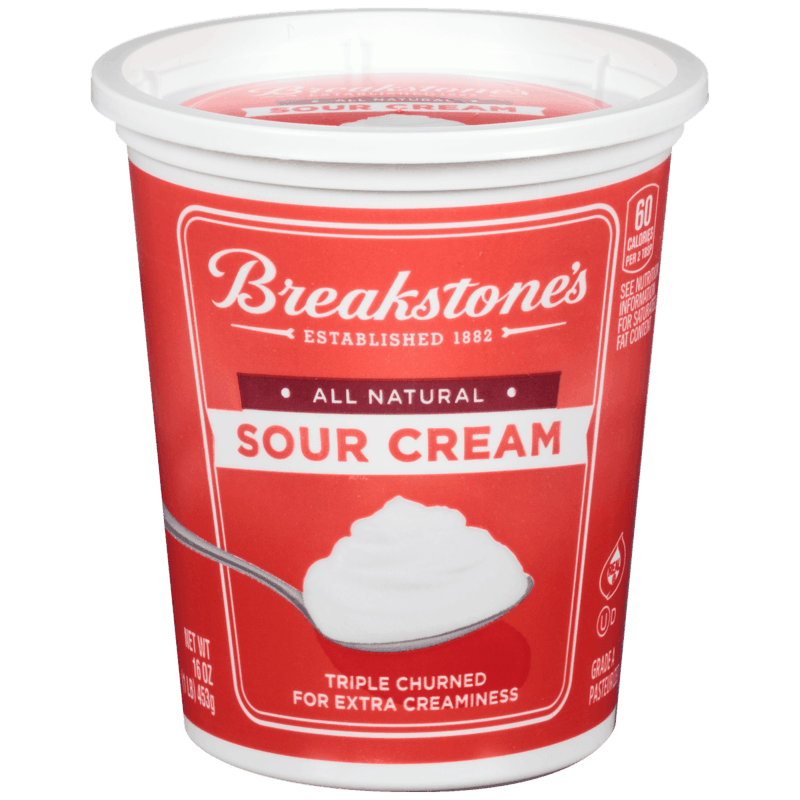 $0.50 for Breakstone's Sour Cream (expiring on Sunday, 08/02/2020). Offer available at multiple stores.