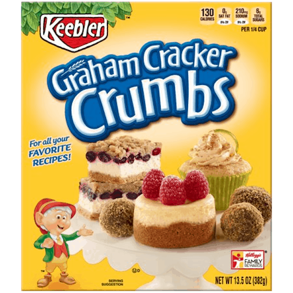 $0.50 for Keebler® Graham Cracker Crumbs (expiring on Sunday, 06/02/2019). Offer available at Walmart.