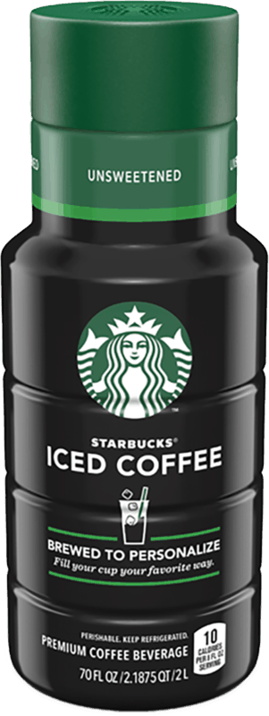 $1.00 for Starbucks® Multi-Serve Iced Coffee (expiring on Monday, 12/02/2019). Offer available at Walmart.