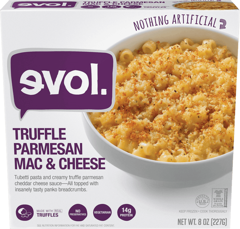 $0.75 for EVOL Single Serve Meals. Offer available at multiple stores.