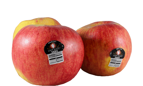 $0.75 for Lady Alice® Apples (expiring on Wednesday, 05/02/2018). Offer available at Fred Meyer, QFC, Costco, Whole Foods Market®.