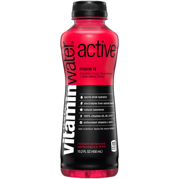 $1.00 for vitaminwater® active (expiring on Monday, 06/25/2018). Offer available at Food Lion.