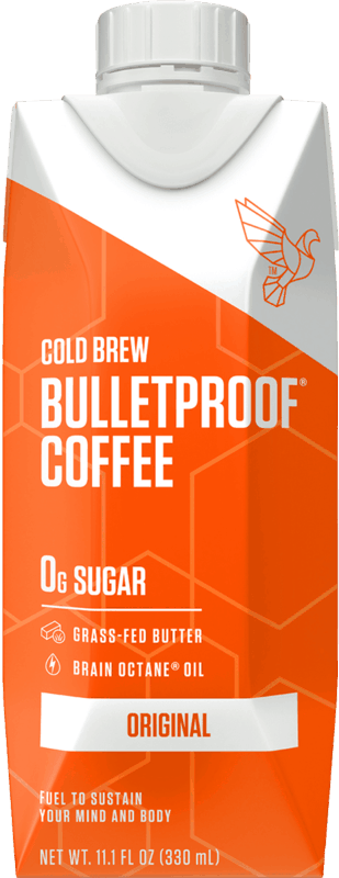 $0.50 for Bulletproof Coffee Cold Brew (expiring on Saturday, 04/11/2020). Offer available at Walmart, Walmart Grocery.