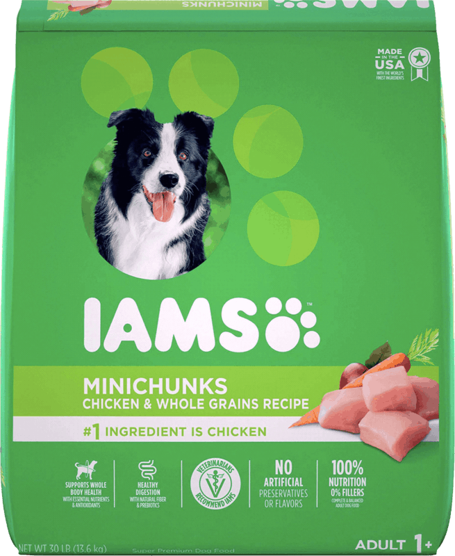 $3.00 for IAMS™ Dry Dog Food (expiring on Monday, 05/31/2021). Offer available at Kroger.