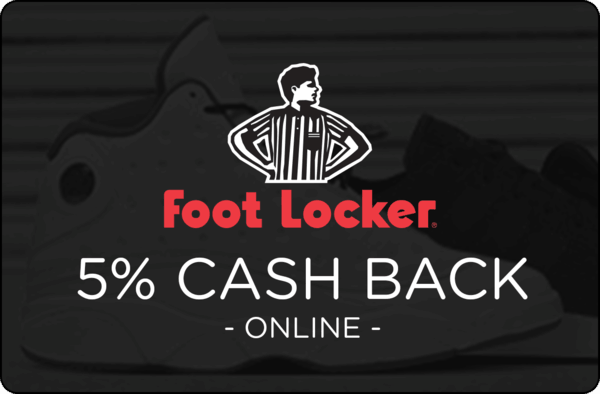 $0.00 for Foot Locker (expiring on Thursday, 07/25/2019). Offer available at Foot Locker.