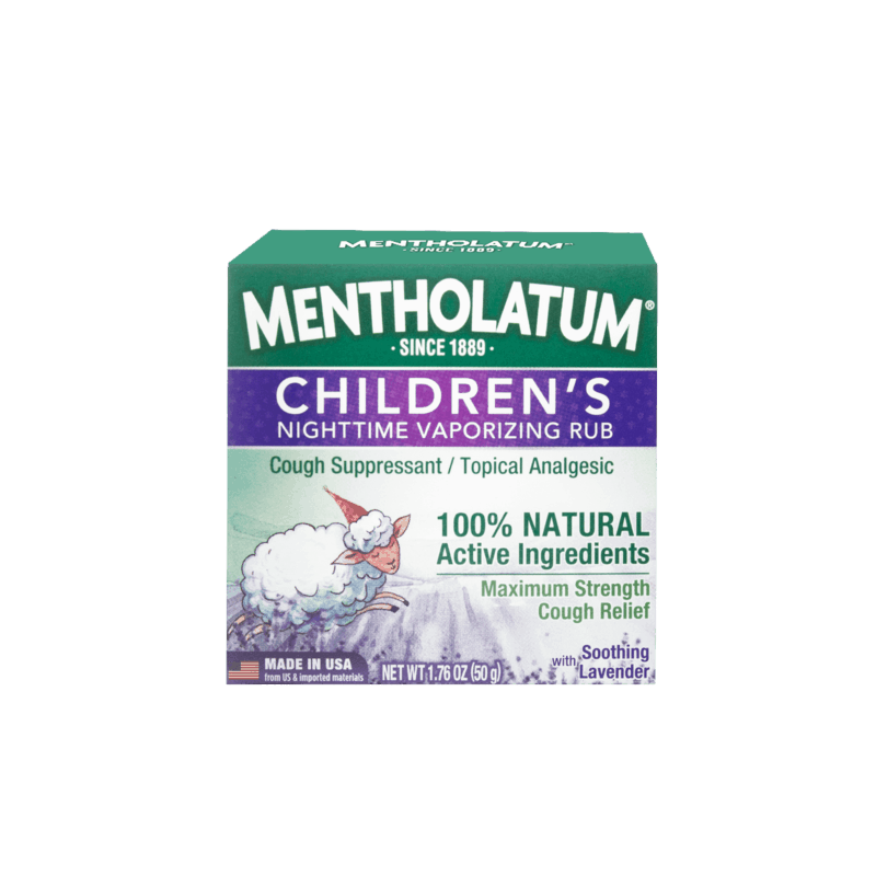 $0.50 for Mentholatum Children's Vaporizing Chest Rub Maximum Strength (expiring on Sunday, 03/01/2020). Offer available at Giant Eagle, Harris Teeter, Save Mart (Food Giant).
