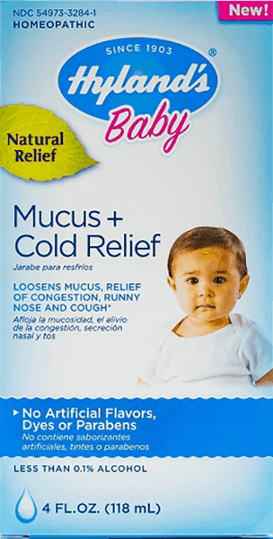 $0.65 for Hyland's® Baby Mucus + Cold Relief (expiring on Thursday, 08/02/2018). Offer available at multiple stores.