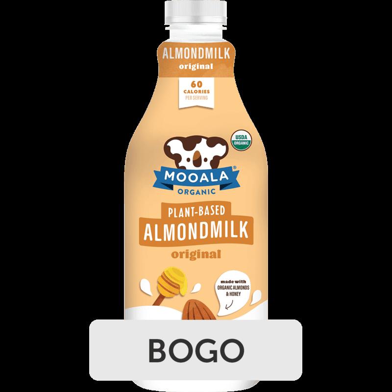 $3.98 for Mooala Plant-Based Milk (expiring on Friday, 08/27/2021). Offer available at Walmart, Kroger, Walmart Pickup & Delivery.
