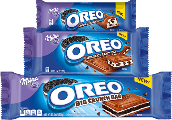 $0.50 for MILKA OREO Chocolate Candy Bars (expiring on Monday, 04/24/2017). Offer available at multiple stores.