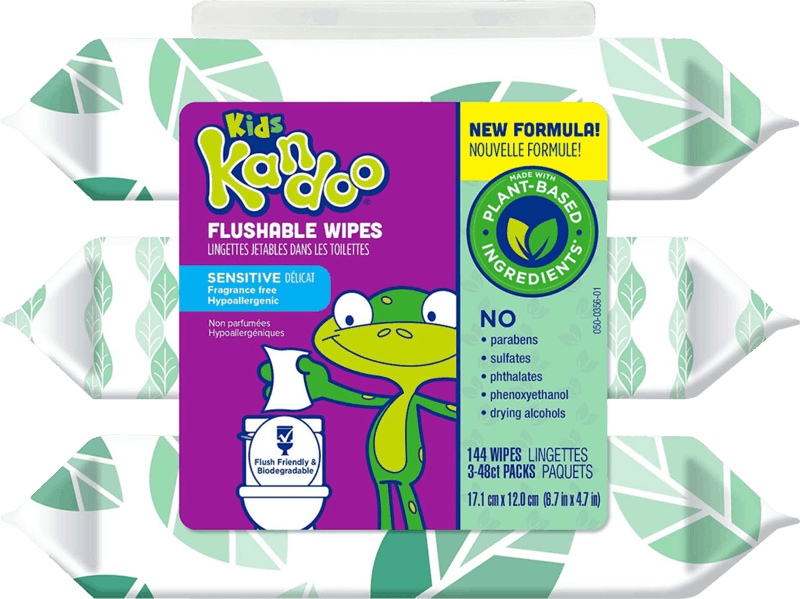 $1.00 for Kandoo Flushable Wipes (expiring on Wednesday, 09/01/2021). Offer available at Walmart, Walmart Pickup & Delivery.