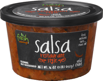 $1.25 for Fresh Cravings® Salsa and Pico de Gallo. Offer available at Walmart.