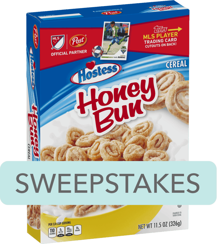 $0.25 for Post® Hostess™ Honey Bun Cereal (expiring on Saturday, 02/08/2020). Offer available at Walmart.